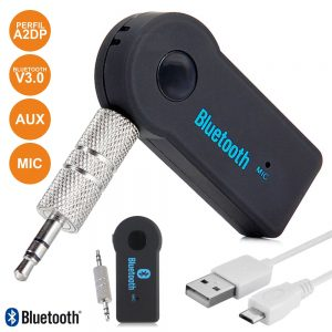 Receptor Áudio Bluetooth C/ Adaptador Aux - (TS-BT08)