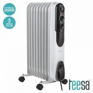 Radiador A Óleo 2000W 9 Elementos TEESA - (TSA8030)