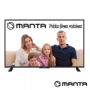 "TV DLED 50"" Ultra HD 3 HDMI DVB-C/T2 2x8W MANTA - (50LUN120D)"