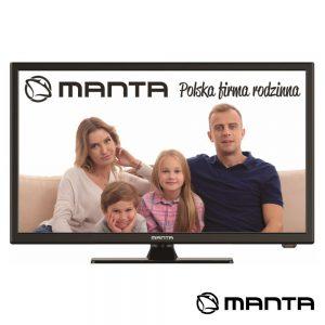"TV LED 24"" HD HDMI USB 230/12V Manta - (24LHN120D)"