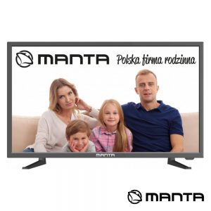 "TV DLED 24"" HD HDMI USB 2 Colunas 6W 230/12V MANTA - (24LHN99L)"