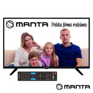 """TV DLED 40"""" FullL HD 3 HDMI USB DVB-T/C 2 Colunas 8W MANTA - (40LFN19S)"""