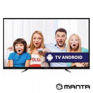 "Smart TV DLED 50"" Ultra HD USB 2 HDMI Android MANTA - (50LUA57L)"