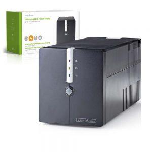 UPS 1000VA 600W NEDIS - (UPSD1000VBK)