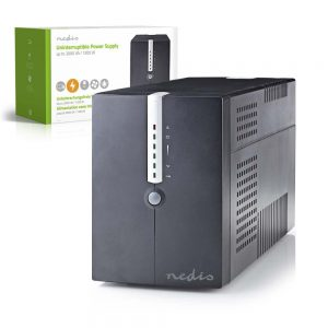 UPS 2000VA 1200W NEDIS - (UPSD2000VBK)