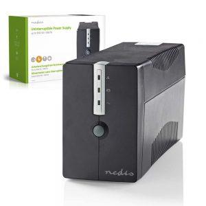 UPS 650VA 360W - (UPSD650VBK)