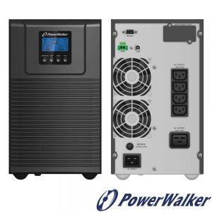 UPS 3000VA 2700W 230V Powerwalker - (UPS-ONL-VFI3000TG)