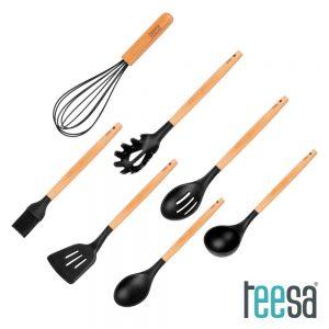 Utensílios De Cozinha C/ Suporte X7 TEESA - (TSA0122)