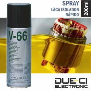 Spray De 200ml Laca Isolador Rápido Due-Ci - (V-66)