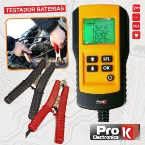 Testador De Baterias 12V Auto Digital PROK - (VA201A)