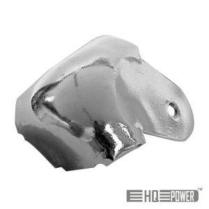 Canto P/ Caixa Acústica Metal Branco 38mmx90° HQ POWER - (VDAC18)