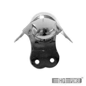 Canto P/ Caixa Acústica Metal Branco 50mmx90° HQ POWER - (VDAC26)