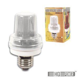 Lâmpada E27 3.5W 230V P/ Estroboscópio Branco HQ POWER - (VDLSLW)