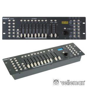 Controlador DMX 192 Canais C/ Joystick - (VDPC174)