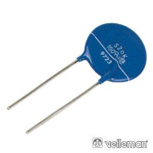 VDR Varistor 7.5mm 20V-26V VELLEMAN - (VDR20)