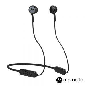 Auscultadores Bluetooth S/ Fios Desporto Preto MOTOROLA - (VERVERAP105BK)