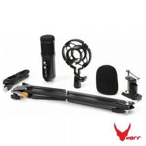 Microfone Condensador Cardióide de Estúdio USB VARR - (VGMTB)