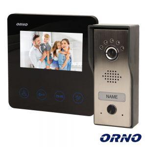 "Vídeo Porteiro C/ Lcd 4.3"" Cores LEDS ORNO - (OR-VID-MT-1050)"