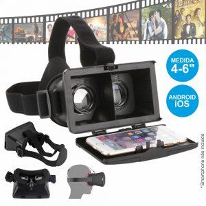 Óculos De Realidade Virtual 3d P/ Android E Ios - (VIRTUAL3DN)