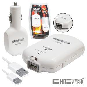 Carregador De Baterias Ni-Mh AAA 5 Em 1 C/ USB - (VL118USB)
