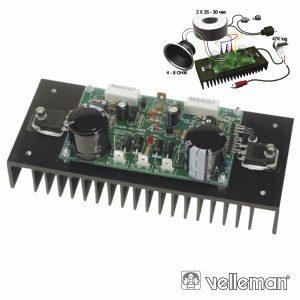 Kit Amplificador De Potência 200W VELLEMAN - (VM100)