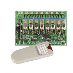 Kit De Emisor E Receptor De 8 Canais VELLEMAN - (VM118)