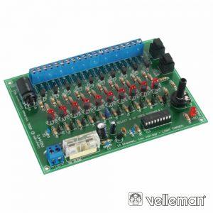 Kit Gerador De Efeitos Luz C/ 10 Canais 12Vdc VELLEMAN - (VM120)
