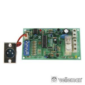 Kit Relé Controlado Por DMX - (VM138)