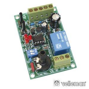 Kit Temporizador Arranque/Parada 1 Seg./60h VELLEMAN - (VM141)