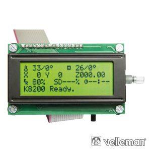 Controlador Autónomo P/ Impressora 3d K8200 VELLEMAN - (VM8201)