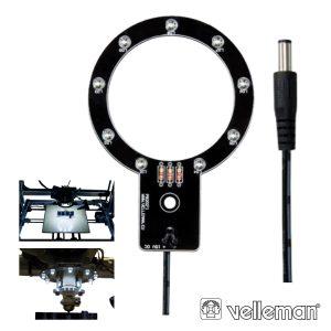 Anel De LEDS P/ Impressora 3d K8200 VELLEMAN - (VM8202)