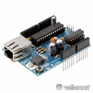 Ethernet Shield P/ Arduino VELLEMAN - (VMA04)