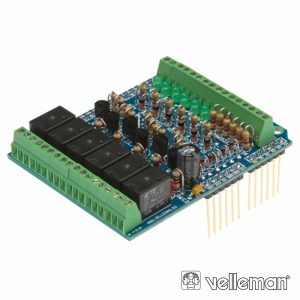 In/Out Shield Para Arduino VELLEMAN - (VMA05)