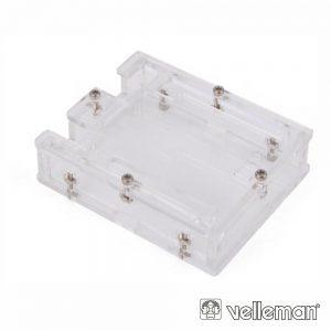 Caixa Transparente 79 X 65 X 21Mm P/ Arduíno VELLEMAN - (VMA506)