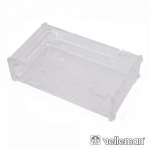 Caixa Transparente 114 X 65 X 18mm P/ Arduíno VELLEMAN - (VMA507)