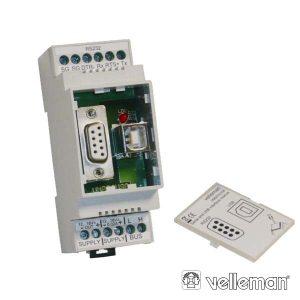 Módulo Rs232/USB P/ Ligação Ao Computador Velbus - (VMBRSUSB)