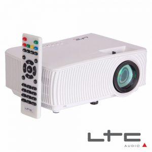 Vídeo Projetor LEDS RGB USB/HDMI/Wifi Comando Ltc - (VP1000-W)