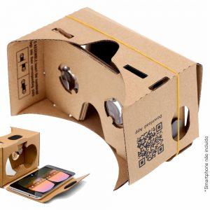 Óculos De Realidade Virtual 3d P/ Android E Ios - (VR-GEAR3)