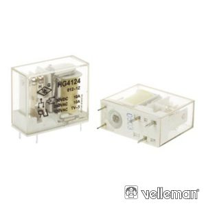 Relé 12Vdc Interruptor Unipolar 10a/12V - (VR10V121C)