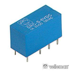 Relé 6vdc Inversor Bipolar 1A/125v - (VR1D062C)