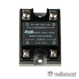 Relé 3-32vdc Interruptor Unipolar 25a/240v Sólido - (VR25SS1A)