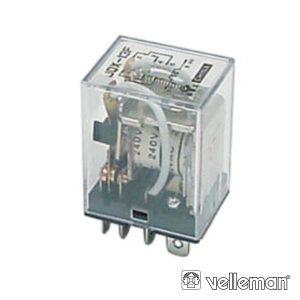 Relé 28vdc Inversor Quadripolar 3a/220v - (VR3HD2404C)