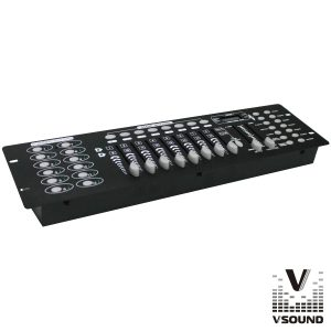 Controlador DMX 192 Canais VSOUND - (VSDMX192A)