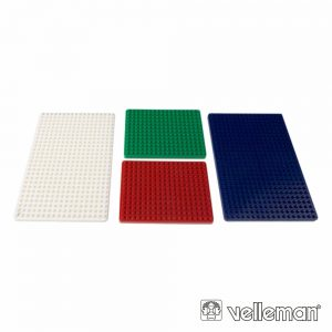 Conjunto De Placas P/ Mini Placas De Ensaio 4x VELLEMAN - (VTBB7)