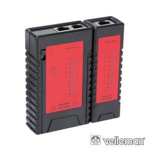 Testador De Cabos Rede Multi Modulares VELLEMAN - (VTLAN6)