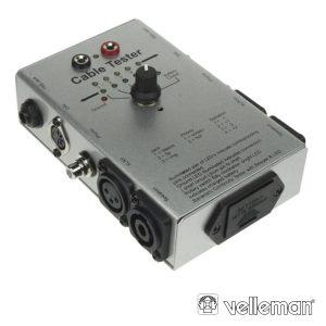 Testador De Cabos Áudio VELLEMAN - (VTTEST14)