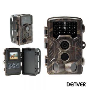 Câmara De Caça Cmos 8mp Pir Sensor  Micro SD Até 32GB DENVER - (WCM-8010MK2)