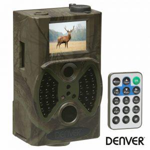 Câmara De Caça Cmos 5mp Sensor Pir SD Até 32GB DENVER - (WCT-5003MK3)