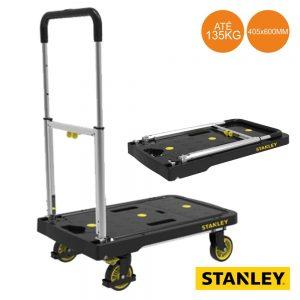 Carrinho P/ Transporte C/ Plataforma 135kg Stanley - (WEST-PC506)