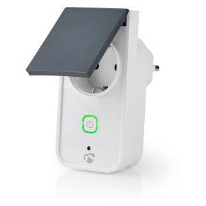 Tomada Elétrica C/ 1 Saída P/ Exterior WiFi - (WIFIPO120FWT)